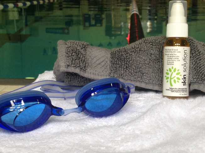 skincare for swimmers
